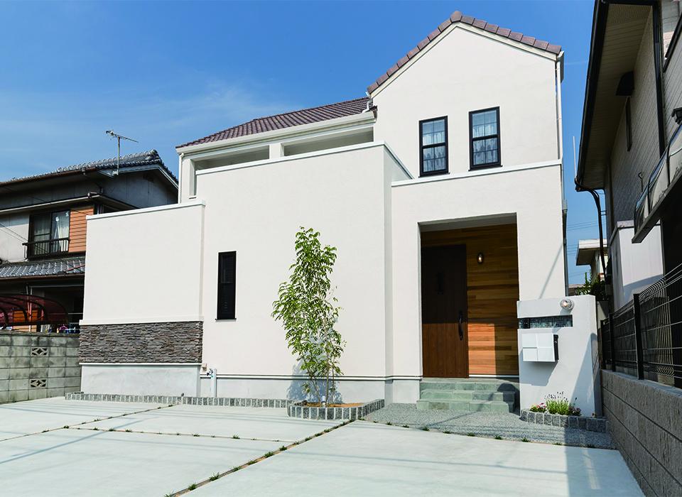 アメリカンヴィンテージスタイルの家10