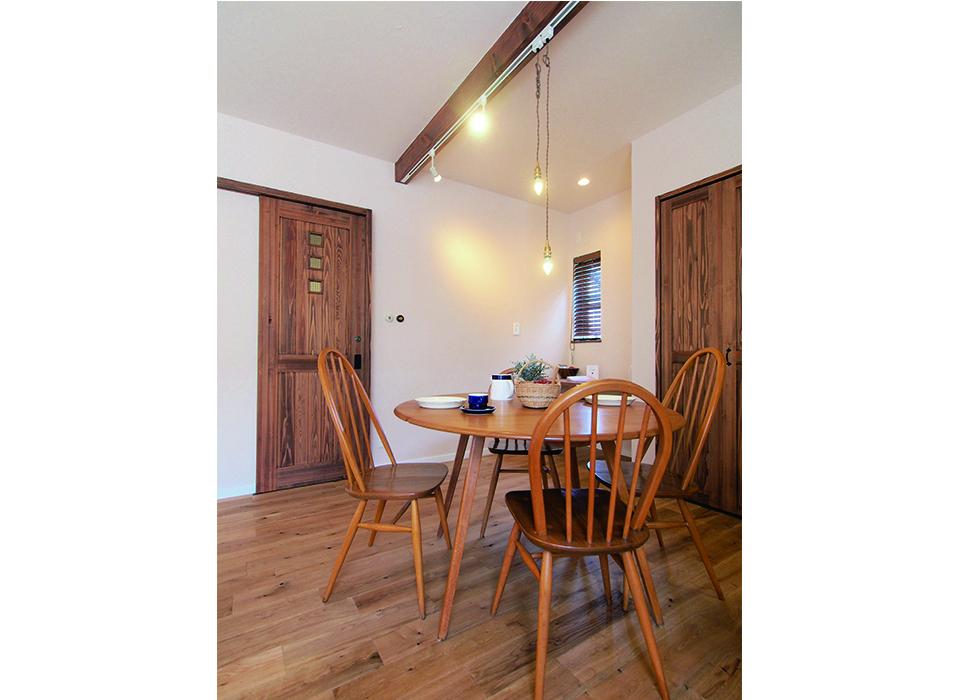 素朴で可愛らしいカフェスタイルハウス10