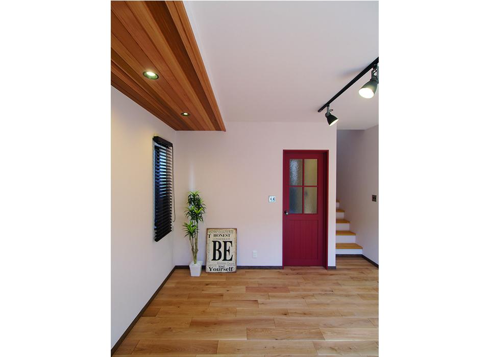 素材と色で遊ぶシンプルヴィンテージハウス02