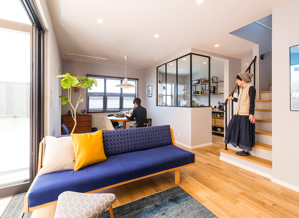 家具がイキイキする北欧スタイルの家10