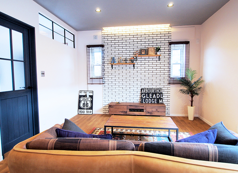 ヴィンテージ家具の似合うカリフォルニアテイストのお家02