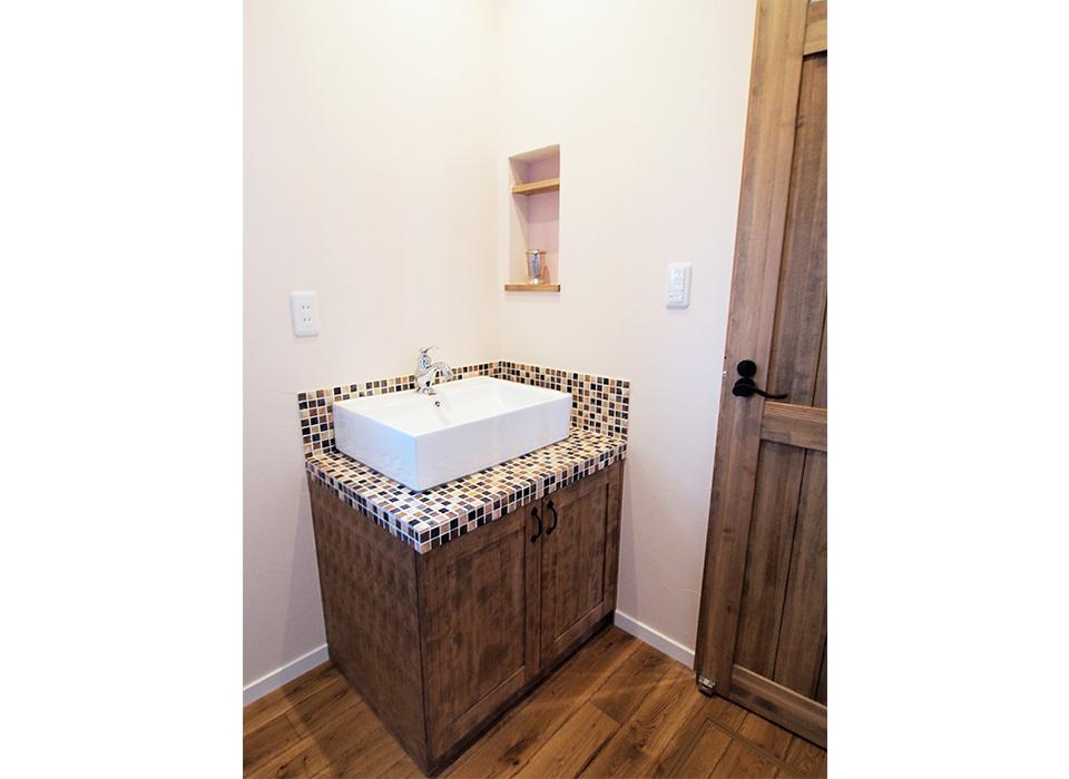 ヴィンテージ家具の似合うカリフォルニアテイストのお家09