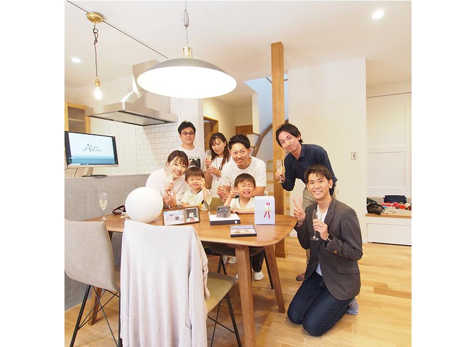 家族の暮らしが楽しく豊かになる家10
