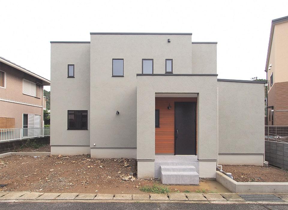 異素材を巧みに組み合わせたmixスタイルのお家09